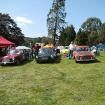 Wiscombe Park 6/9/2015 – L-R, Messrs McLatchie, Young & Gent in the GT line up