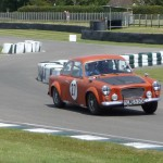 Goodwood 1/8/2015 – Brian Gent exiting the chicane