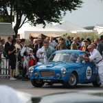 Goodwood 12/9/2014 – Mike Bell in the assembly area