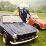 Wiscombe 2003 - Nigel Ellis & Bev Fawkes with Mk2 and Ex Paul Scott GT