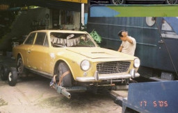 Mk2 found as HongKong scrapyard gate sentinal and rescued for restoration