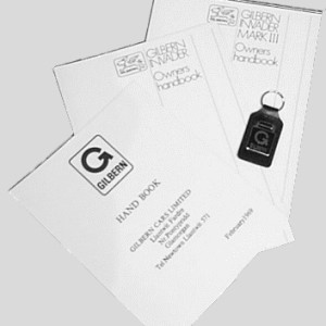 Reprinted handbooks  key fob