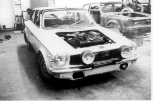 The Factory 1972-73 - Snow's garage Mk3 rally car