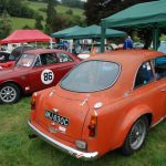 Wiscombe Park 4/9/2016 – GT's parked in the Paddock