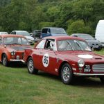 Wiscombe Park 4/9/2016 – GT's leaving the Paddock