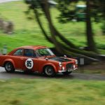 Wiscombe Park 3/9/2016 – Brian Gent at a very wet Wis Corner