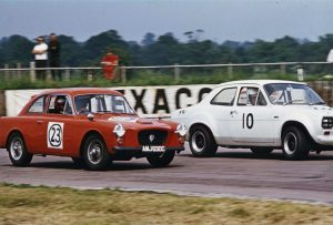 This photograph of AMJ 630C was taken in 1968 at Copse Corner, Silverstone